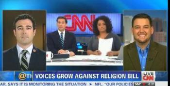 CNN Guest:Arizona Bill Not Discrimination If Pro-gay 'Straight Men' Are Also Refused Service