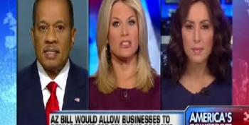 Fox Pundits Argue That The Free Market Will Take Care Of Problems With Arizona Anti-Gay Law