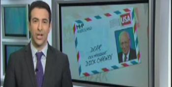 Ari Melber's Open Letter To Dick Cheney: Vets Need Food Stamps Too