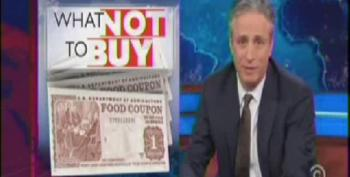 Jon Stewart Slams Fox For Shaming The Food Stamp Recipients
