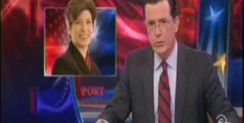 Colbert Joins Palin In Endorsing Hog Castrating Iowa GOP Senate Candidate