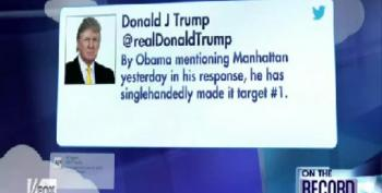 Donald Trump Blames Obama For Making Manhattan A Terrorist Target