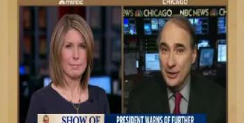 Nicolle Wallace Badgers David Axelrod To Paint Obama As Weak