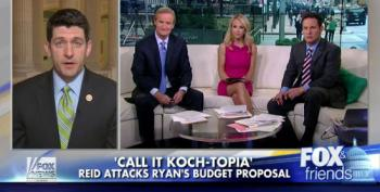 Paul Ryan Whines To Fox About Harry Reid Calling His Budget 'Koch-topia'