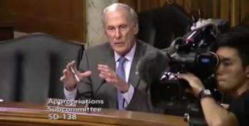 Sen. Dan Coats Attends And Speaks At The Wrong Hearing