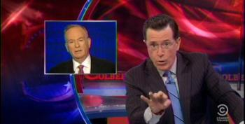 Stephen Colbert Takes Down Bill O'Reilly's Insane Defense Of Income Inequality