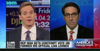 Fox Continues Flogging Issa's Fake IRS 'Scandal'