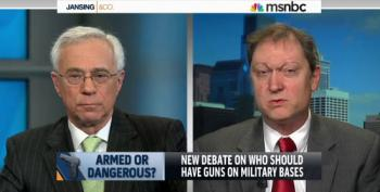 Colonel Jack Jacobs Repeatedly Shushes Pro-Gun Lunatic