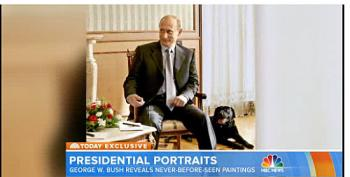 George Bush: Putin Dissed My Dog