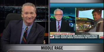 Maher: Maybe Media Can Go On A Search For America's Vanishing Middle Class