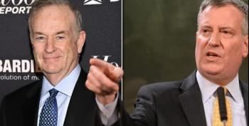 O'Reilly Says He Wants To Beat Up Mayor De Blasio At Catholic Fundraiser