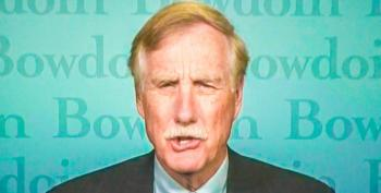 Angus King Offers To Waterboard Dick Cheney 'Hundreds' Of Times