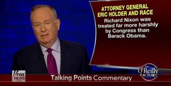 O'Reilly: Nixon's AG Had It Worse Than Holder