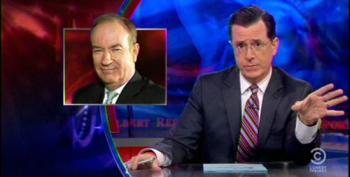 Colbert Makes A Mockery Of O'Reilly's Complaints About 'Grievance Industrial Complex'