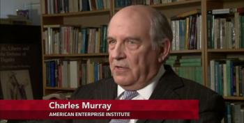 Thanks, Kochs! PBS Infested With White Supremacist Charles Murray