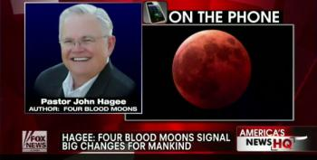 Wingnut Pastor Hagee: Four Blood Moons 'Signal Big Changes For Mankind'
