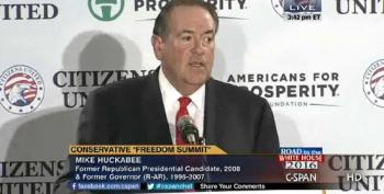 Huckabee: I'm Beginning To Think There's More Freedom In North Korea Than U.S.