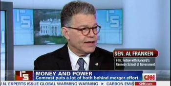 Sen. Al Franken Discusses Opposition To Comcast Takeover
