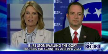 Priebus: 'We're Done Playing Footsie' With IRS