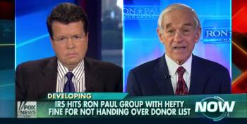 Ron Paul's 'Campaign For Liberty' Fined By IRS For Refusing To Turn Over Donor List