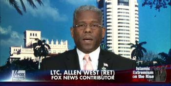 Fox And Allen West Fearmonger Over Muslim-Americans 'Waging Jihad' By Engaging In Politics