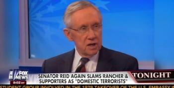 Harry Reid: 'If These People Are Patriots, We're In Trouble'