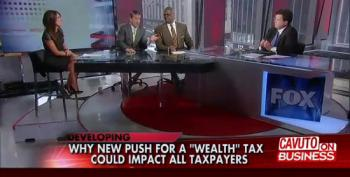 Fox Panel Fearmongers Over Possibility Of 'Global Wealth Tax'