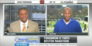 The 'Spirit Of 4/20' Affects MSNBC's Boston Marathon Coverage