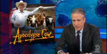 Jon Stewart Rips Hannity For Making Glenn Beck The Voice Of Reason On Bundy Ranch Madness