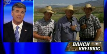 Hannity Steps Up To Give Domestic Terrorist Bundy More Pot-Stirring Time