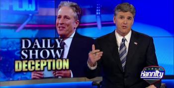 Hannity Goes After Jon Stewart For Mocking His Bundy Ranch Madness