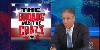 The Daily Show: The Broads Must Be Crazy