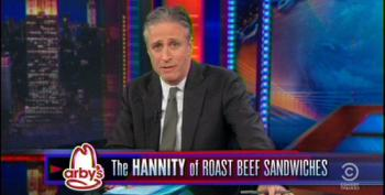 Jon Stewart Demolishes 'The Arby's Of News' Sean Hannity