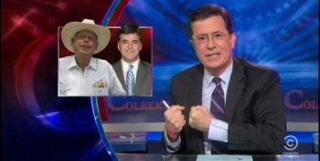 Colbert Salutes Hannity For Bravely Standing Up For Cliven Bundy