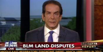 Charles Krauthammer Blasts Conservatives Supporting Cliven Bundy