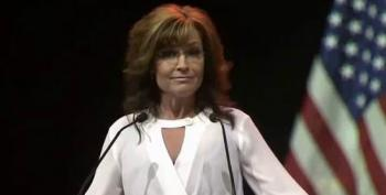 Sarah Palin Blasted By Christian Conservatives Over NRA 'Waterboarding/Baptizing'  Speech.