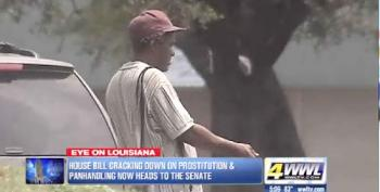 Louisiana Bill Criminalizes Begging. What's Next? Being Homeless?