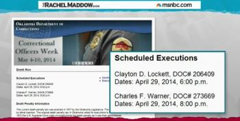 Maddow: Oklahoma Stays Second Execution After First Is Botched