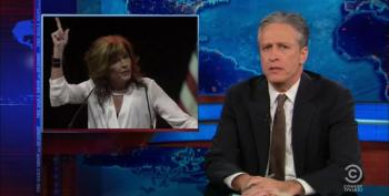 Jon Stewart Rips The Paranoid Gun Nuts At The Annual NRA Convention