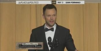 Joel McHale At The White House Correspondents' Dinner - Part One