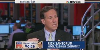 Santorum: Raising Minimum Wage Disincentivizes Businesses To Hire