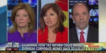 Fox Takes Time Out From Fake Benghazi Outrage To Call For Lowering Corporate Tax Rate