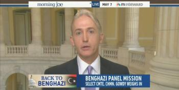 Democrats Says Trey Gowdy's Benghazi Committee Is Actually Hillary Oppo-Research