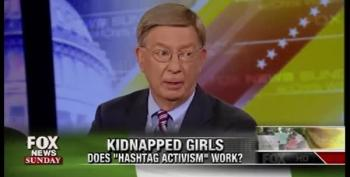 George Will, Brit Hume Mock #BringBackOurGirls Campaign