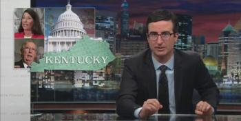 NSFW: John Oliver Offers To 'Help' McConnell And Grimes With A Race To The Bottom On Campaign Ads