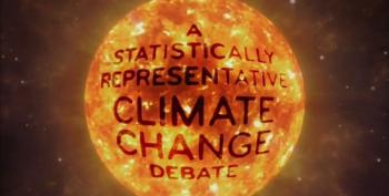Last Week Tonight: A Statistically Representative Climate Change Debate
