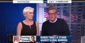 Morning Joe Tries To Defend Marco Rubio's Climate Change Denying