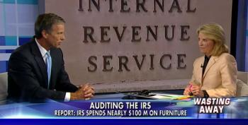 Fox Attacks The IRS For Spending $100M On Office Furniture Over Five Years