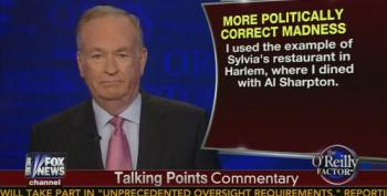 O'Reilly Continues To Have Selective Amnesia On Visit To Harlem Restaurant