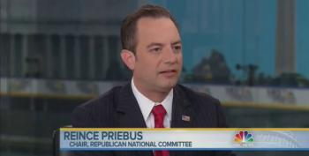 Priebus: I Don't Think Clinton Will Run If She Has Another Month Like She Just Had